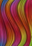 Listras abstratas nas cores do arco-íris ilustração do vetor