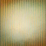 Listras azuis do fundo do ouro do vintage e textura afligida center e velha desvanecida ilustração stock