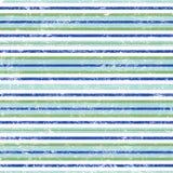 Listras azuis e verdes frescas Fotografia de Stock