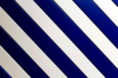 Listras brancas e azuis fotos de stock royalty free