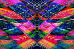 Listras coloridas Imagem de Stock