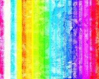 Listras coloridas de Grunge Imagens de Stock