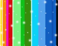 Listras coloridas Sparkly do fundo Fotos de Stock