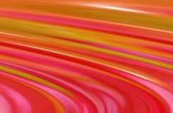 Listras cor-de-rosa e amarelas Fotografia de Stock