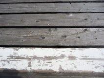 Listras de madeira Imagem de Stock Royalty Free