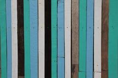 Listras de madeira coloridas Foto de Stock