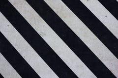 Listras diagonais brancas diagonais Imagens de Stock