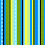 Listras do contraste | Teste padrão sem emenda do vetor Foto de Stock