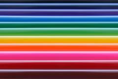 Listras horizontais coloridas de incandescência lustroso, textura do fundo do arco-íris Foto de Stock