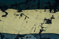 Listras horizontais, fragmento, batik quente, textura do fundo fotografia de stock