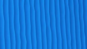 Listras moventes abstratas na cor azul ilustração do vetor