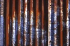 Listras oxidadas imagem de stock