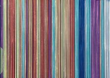 Listras verticais coloridas Imagem de Stock