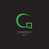 Listu C logo - symbol twój biznes Obraz Royalty Free