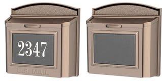 Listu lub poczta pudełka Fotografia Stock