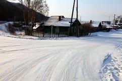 Listvianka settlement, Lake Baikal, Russia. royalty free stock photo