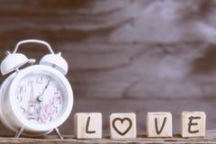 Listy literuje miłości Fotografia Stock