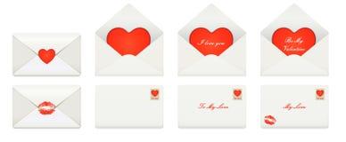Listy miłośni Obraz Royalty Free