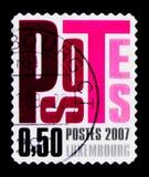 Listy, Postocollant, seria, około 2007 Obrazy Stock