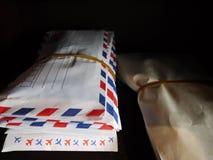 Listy w stercie Obraz Stock