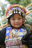 Lisu tribe children at the Wat Phra That Doi Suthep in Chiang Ma Royalty Free Stock Image