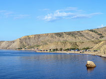 Lisya bay in Crimea Stock Images
