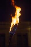 Lit факела Стоковая Фотография RF