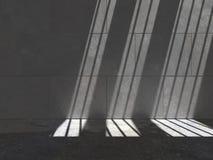 Lit-Betonmauer 05d2 Stockfoto