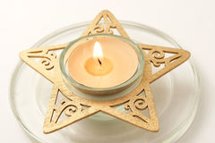 Lit Candle Royalty Free Stock Photography