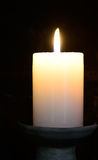 Candle. Spiritual concept. Stock Images