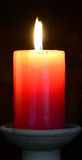 Candle. Spiritual concept. Stock Photography