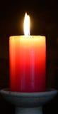 Candle. Spiritual concept. Stock Photography