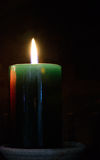 Candle. Spiritual concept. Royalty Free Stock Photo