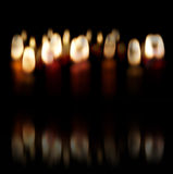 Lit candles Royalty Free Stock Photography