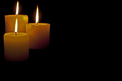Candle flame royalty free stock images