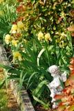 Lit de fleur de ressort Image libre de droits