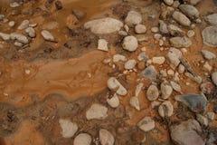 Lit de la rivière Image libre de droits