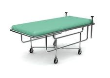 Lit de malade de dispositifs médicaux Photographie stock