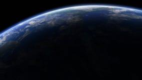 Lit del borde de la órbita 3D Foto de archivo libre de regalías