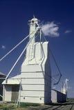 Lit della parte anteriore del silo di granulo Immagine Stock Libera da Diritti