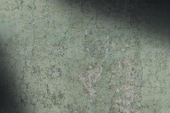 Lit diagonalmente resistido e afligido do verde cinzento da textura Imagens de Stock Royalty Free