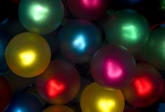 Lit Holiday Light Bundle 2 Royalty Free Stock Photos