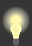 Lit lamp Stock Photos