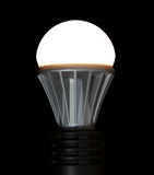 Lit LED Light Bulb Royalty Free Stock Images