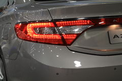 Lit tail lamp Stock Photos