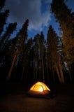Lit Tent Stock Photos