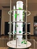 Aeroponic tower garden Royalty Free Stock Photos