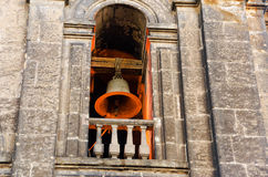 Lit up Bell Tower Royalty Free Stock Photos