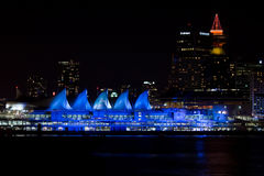 Lit vers le haut d'endroit de Canada, Vancouver, AVANT JÉSUS CHRIST Photos stock