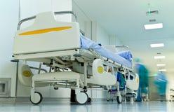 Hôpital de couloir image libre de droits